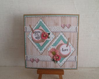 card for lovers.
