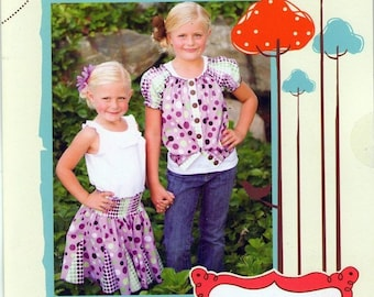 Izzy and Ivy Patterns, Gracie Skirt and Jacket pattern