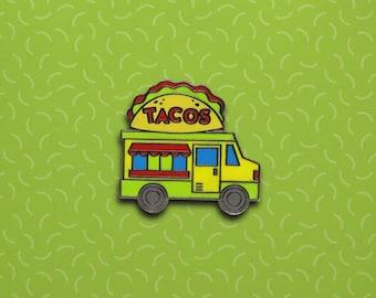 Tacos Truck Hard Enamel Pin