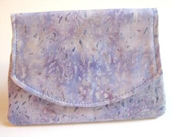 Icy Lavender Batik Wallet