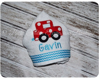 Cruisin Car Hooded Towel (other colors available for towel)