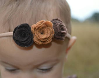 Grounded Floral Hair Piece