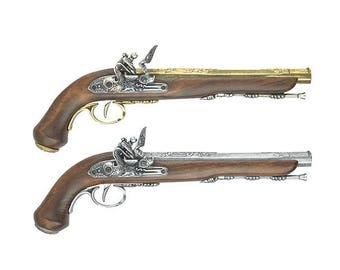 French Dueling Flintlock Pistol