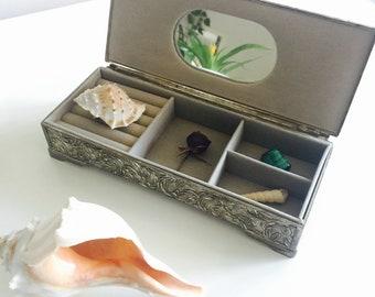 Antique Silver Jewelry Box