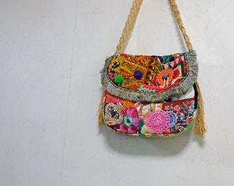 SALE 50%off Bohemian Vintage Patchwork Tote bag