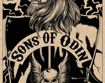 Son's of Odin Poster