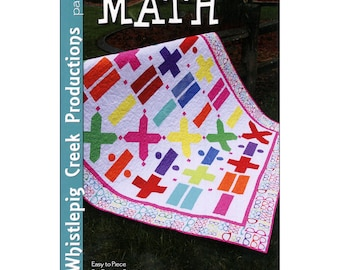 "Pattern ""Math"" Quilt by Whistlepig Creek Productions (WCP1281) Paper Pattern"