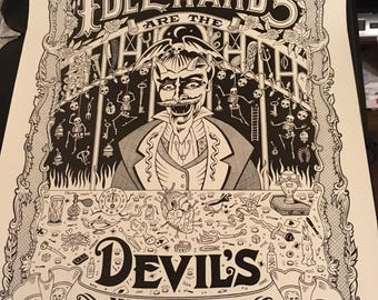Idle Hand's are the Devil's Work Triangle Slash/Ashleigh Talbot