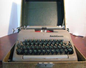 Vintage Smith Corona Sterling Typewriter