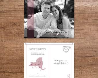 Custom Save the Date - Postcard