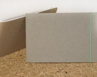 """Handbound Sketchbook - 4x6"""" landscape - softcover sketchbook"""