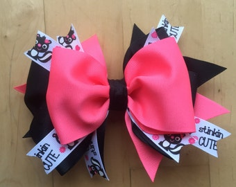 Little Stinker Bow/headband