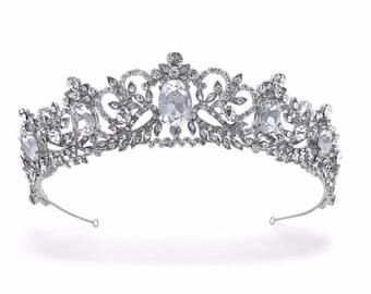 Beau Bridals   Bridal Tiara   Vintage Tiara   Tiara Crown   Regal Tiara   Vintage Bride   Bridal Hair Accessories   Bridal Hair   Bridal