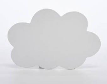 White CLOUD door plaque - NEW!