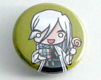 Bleach- Chibi Ukitake Button