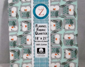 Woodsie Pal Cotton Flannel Fat Quarter - #127 - Land of Whimzie