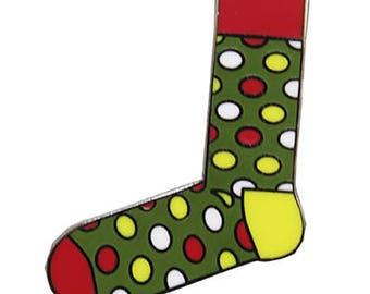 Happy Socks 6 Hard Enamel Pin