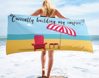 Building An Empire Beach Towel Direct sales Consultant