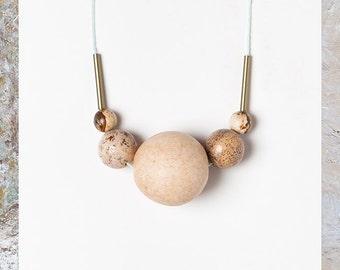 Terrestre 06 necklace by Depeapa