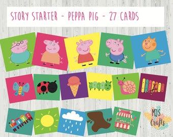 Peppa Pig - Story telling Set