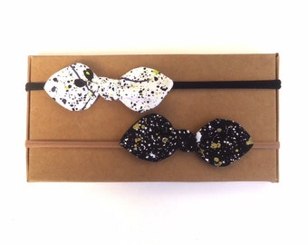 Spotted Bow // Bow // Hair Bow // Baby Bow // Baby Gift // Baby Accessories