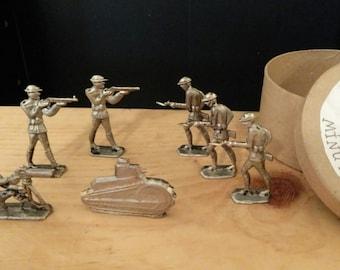 World War 1 Allies Pewter Box Set