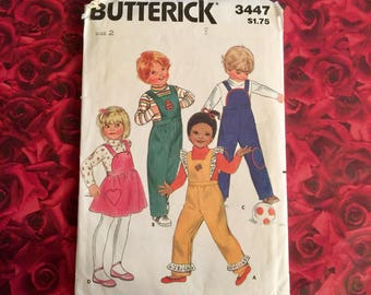 80's Vintage Child's Sewing Pattern