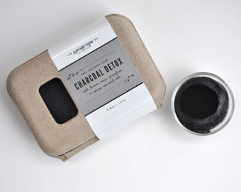 Activated Charcoal Detox Soap... great for face and body