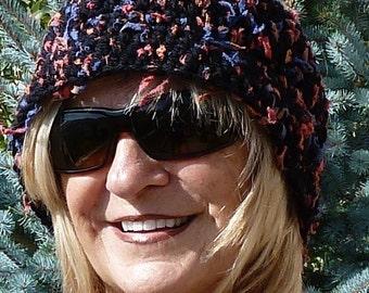 Women's winter headband, unique and quality hand crafted fun headband, warm ski accessory, original crochet headband, gift for her