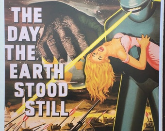 The Day The Earth Stood Still Poster 11 x 17 inches,