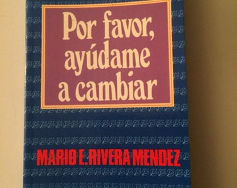 Help book in Spanish, reading Spanish help, books of religion and spirituality, books, vintage reading, vintage Book