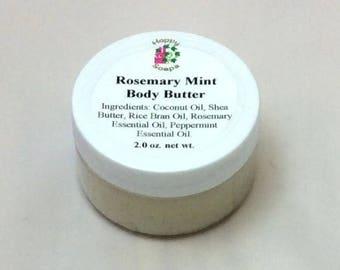 2 oz Rosemary Mint Body Butter
