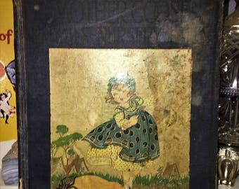Vintage Children's Book - Mother Goose Nursery Rhymes 1922