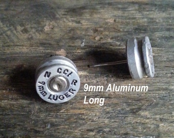 Bullet Post Earrings