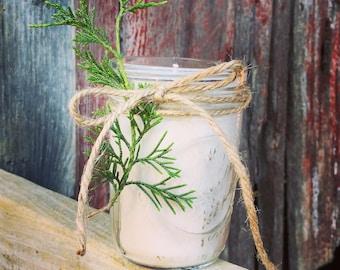 A Walk in the Woods: Cedar, Fir & Lemon 8oz Natural Soy Wax Candle