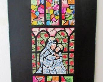 Art The light of Mary