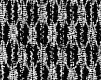 Patchwork fabric Michael Miller Indigo Sashiko Black Black
