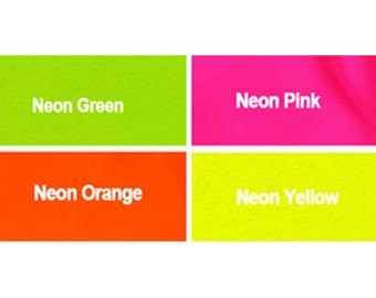 "20 "" YKK Zippers - Neon Colors #3 Nylon Coil - Select Your own Color (each color have 10 zippers)~ZipperStop Wholesale  Distributor YKK®"