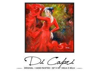 Château Merlot | Original Oil Painting On Canvas | Modern Art | 08
