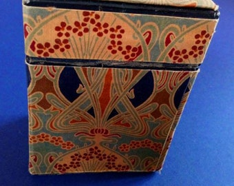 Vintage Liberty Decorative Box Of  Playing Cards