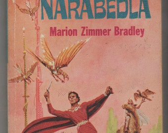 1964 Ace Double Book: Falcons of Nanrabedla and The Dark Intruder and Other Stories by Marion Zimmer Bradley. VG+  Ace Books