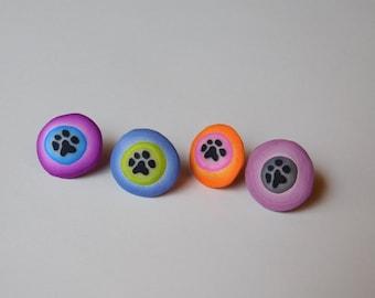 Paw Print Thumbtacks