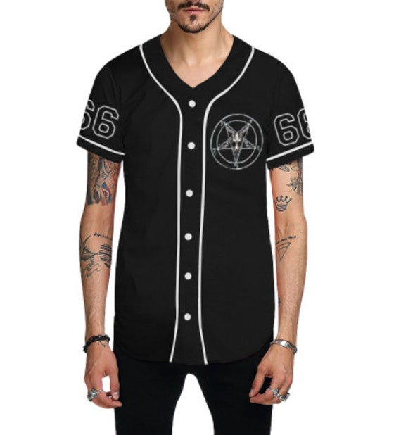 Team Satan 666 Baseball Jersey
