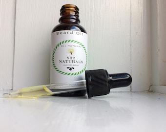 Beard Oil Hunter's Blend- Spruce, Pine, & Fir with a hint of lemon- All Natural