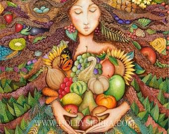 The Harvest Goddess - Mistress Of Mabon