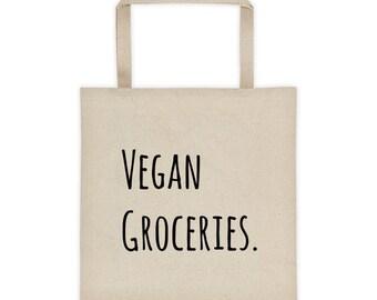 Vegan Grocery Tote bag