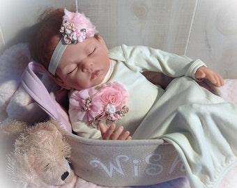 Newborn Girl Take Home Gown, Newborn Gown, Baby Girl Coming Home Outfit, Newborn Girl Photo Outfit