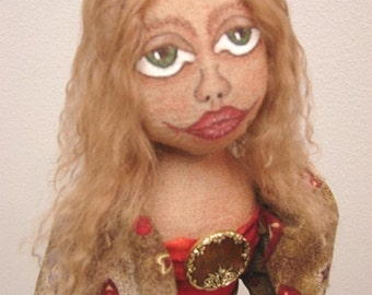 Art Doll-Ginger-(Made to Order by Request)
