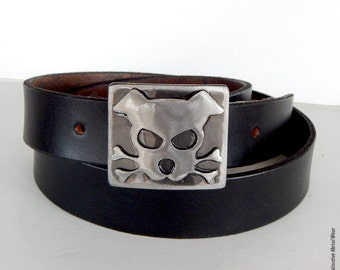 Outlaw Doggy Bandit Belt Buckle by WATTO Distinctive Metal Wear / Dog Lover Gift / Dog Belt Buckle / Pet Lover / Handmade Betl Buckle