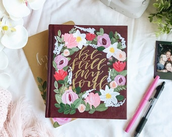 Hand Painted Bible: Flourish Theme